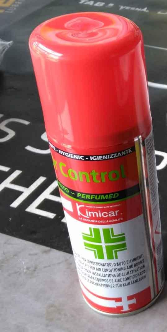 Igienizzante spray interni e condizionatori